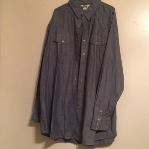 Other - Western snap button shirt